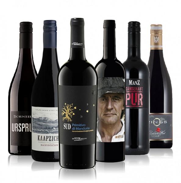 Weinpaket unsere Bestseller Rotwein