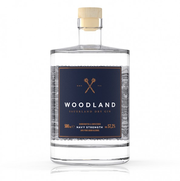 WOODLAND Gin Navy Strength
