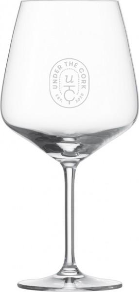UnderTheCork Burgunder Glas