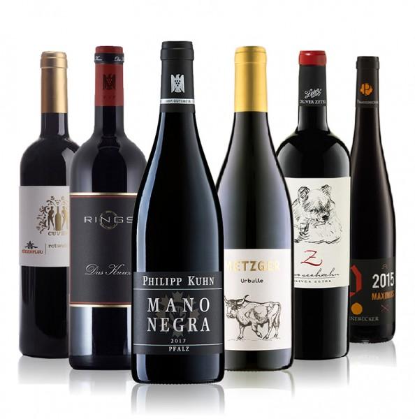 Weinpaket Rotweine aus Deutschland II