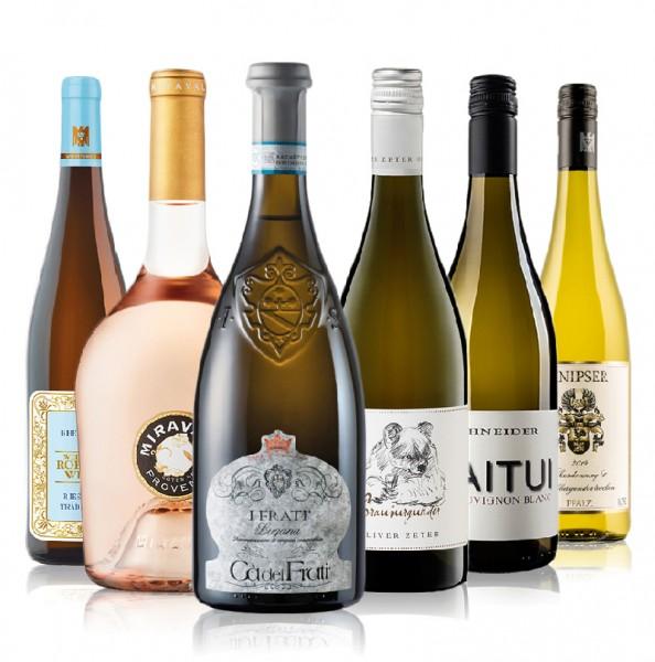 Weinpaket unsere Bestseller Weißwein