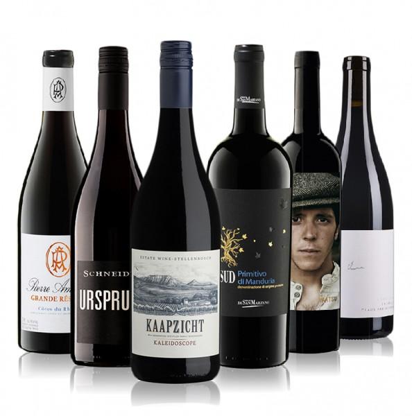 Weinpaket Rotweine International I