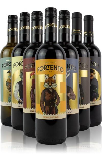 Portento Weinpaket alle 7 Amphorenweine